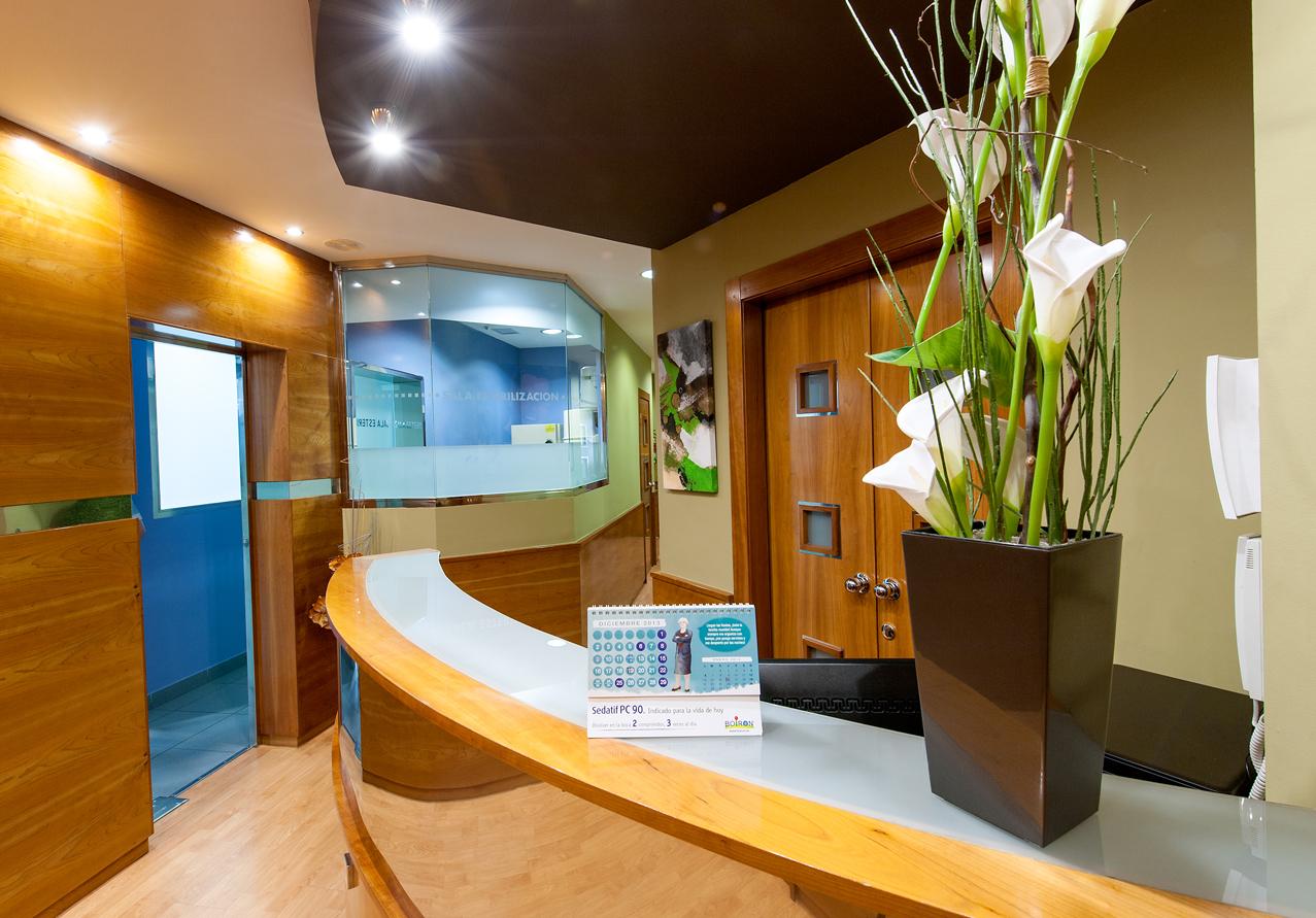 Sala de espera Clínica Tutor
